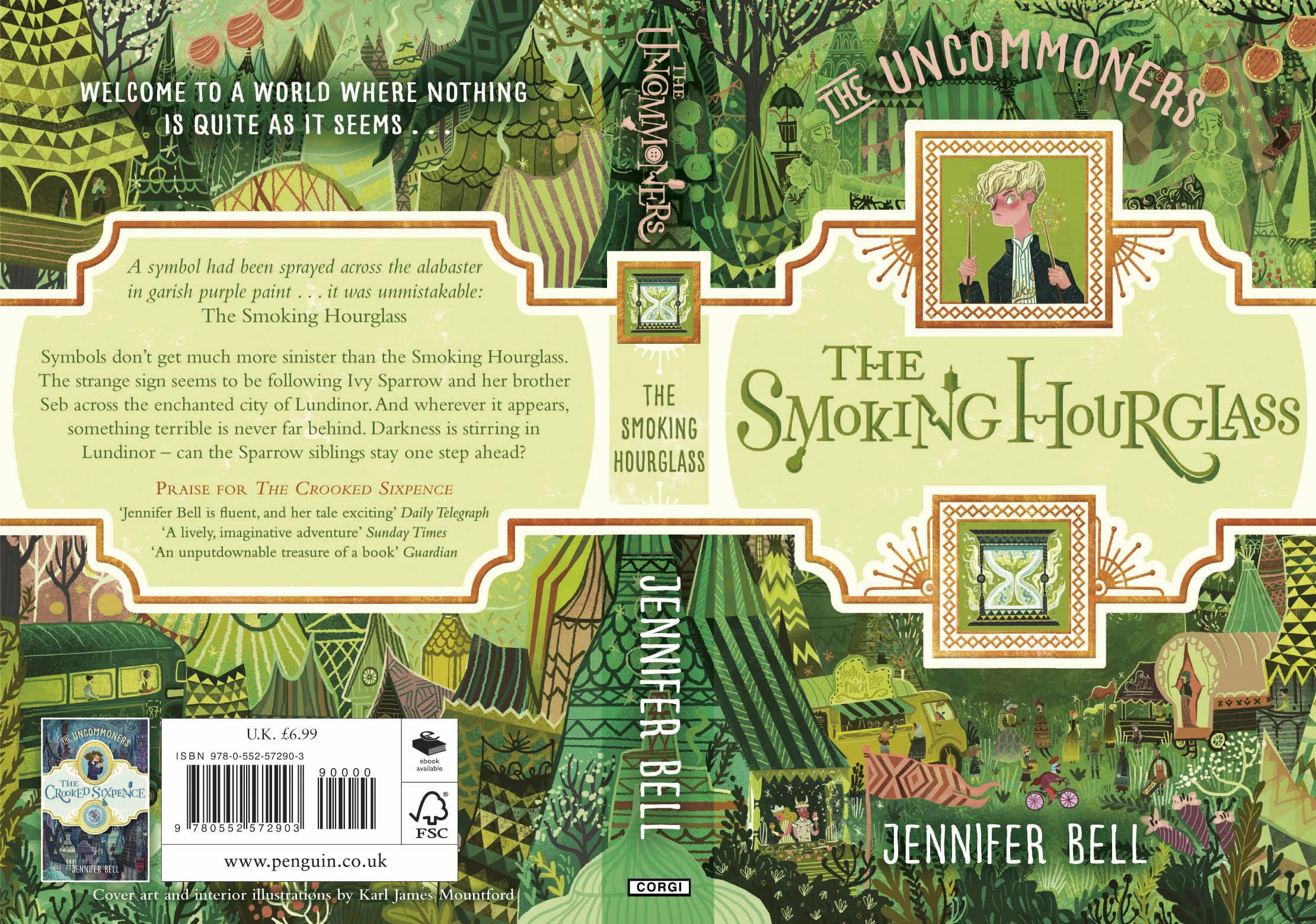 The Smoking Hourglass Greenhouse Literary Agency